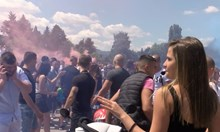 2000 абитуриенти празнуват край НИМ в Бояна (Видео)