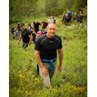 """Радев изкачи връх Зъбчето в Рила планина. Походът беше част от инициативата """"Спортувай с Президента"""". Снимки прессекретариат на президента"""