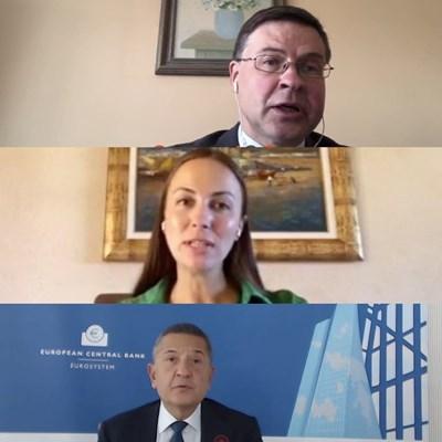 Ева Майдел: България ще може да разчита на техническа и финансова помощ от ЕК за Еврозоната