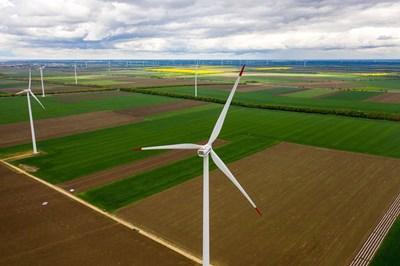 """Вятърния парк """"Св. Никола"""" на """"Ей И Ес Гео Енерджи"""" спести през 2019 г. 323 277 т въглеродни емисии и рроизведе 291 241 мегаватчаса електроенергия."""