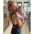 Курникова с бебето