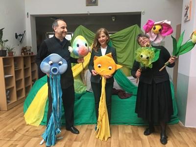Куклен спектакъл гледаха децата от социалните центрове във Велико Търново СНИМКА: Община Велико Търново