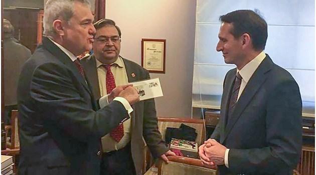 Румен Петков се срещна с шефа на руското разузнаване, наследник на съкровище за 4.5 млн. евро