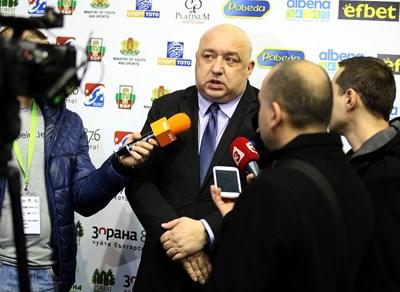 Снимки: Министерството на спорта