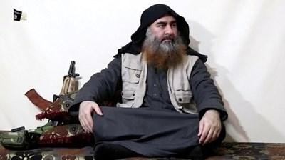 Абу Бакр Ал Багдади. Снимка РОЙТЕРС