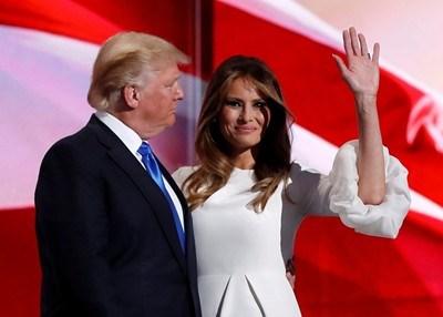 Доналд и Мелания Тръмп Снимка: Ройтерс