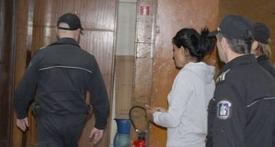 Виолета Ангелова бе задържана под стража веднага след двойното убийство през октомври 2017 г. в дискотеката на село Паничерево, община Гурково. СНИМКА: Ваньо Стоилов