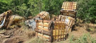 РИОСВ проверява сигнала за изхвърлени контейнери в землището на Община Сливополе