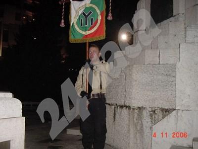 Емил Крумов полага клетва при приемането си в БНС през 2006-а. СНИМКИ: АРХИВ НА БОЯН РАСАТЕ СНИМКА: 24 часа