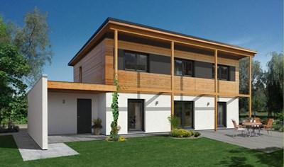 Пасивна къща в Германия. В света вече има над 50 000 такива постройки.