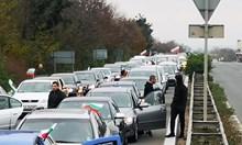 """Бургас блокиран от север до АМ """"Тракия"""" (Обновена)"""