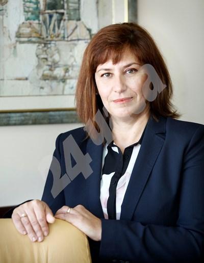Теодора Точкова - главен съдебен инспектор СНИМКА: 24 часа