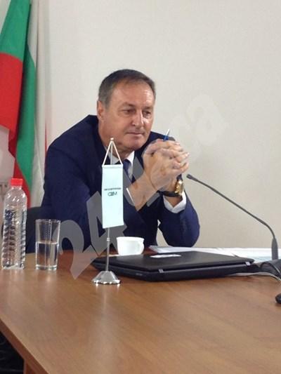 Сашо Йовков на конкурса за шеф на БНТ СНИМКА: 24 часа