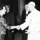 Людмила и папа Йоан Павел II