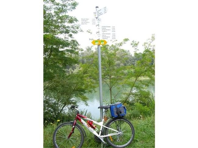 c50c912d26b На велоалеята няма опасност да се загубите, защото има достатъчно  указателни табели. СНИМКА: ЛИЧЕН АРХИВ
