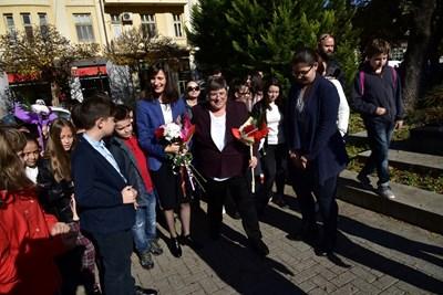 Мария Габриел в Хасково: Новите технологии означават нови възможности за модерно образование