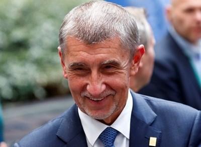 Чешкият премиер Андрей Бабиш СНИМКА: Ройтерс