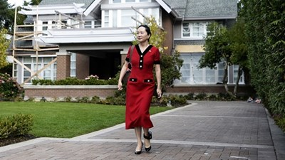 """Мън Уанджоу, арестуваната финансова директорка на """"Хуауей"""" СНИМКА: """"Радио Китай"""""""