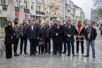 """Павел Вълнев се срещна с пловдивските представители на """"Републиканци за България"""""""