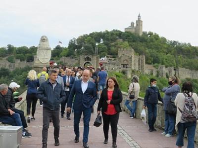 Българите се стекоха в Търново за Независимостта