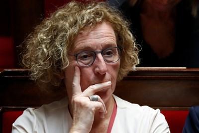 Министърът на труда във Франция Мюриел Пенико  СНИМКА: Ройтерс