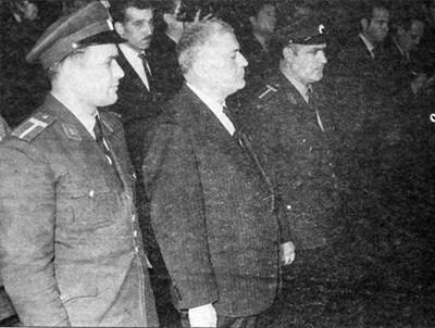 Иван Асен Георгиев по време на делото срещу него за шпионаж.
