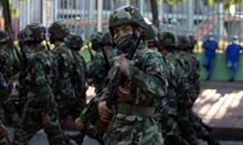 Военен парад в чест на 42-ата годишнина на въоръжените сили на Никарагуа