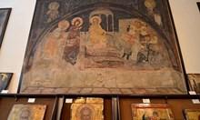 Мира не ми дава идиотската картина, подарена от Синода на папата
