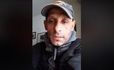 В първото си видео във фейсбук, което вече е изтрито, Касимов заплаши  жителите на село Войводиново Кадър: Фейсбук