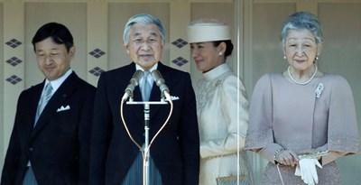 Принц Нарухито, император Акихито, Масако Овада и императрица Мичико  СНИМКА: Ройтерс