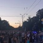 Протестиращи на Орлов мост