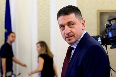 Вътрешният министър Христо Терзийски