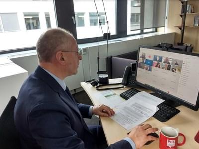 Президентът на ПЕС и български евродепутат Сергей Станишев
