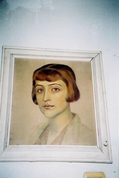 Една от крадените картини  СНИМКА: РАДКО ПАУНОВ