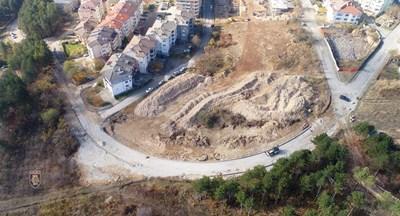 """Изграждането на новите улици в кв.""""Картала"""" върви с бързи темпове"""
