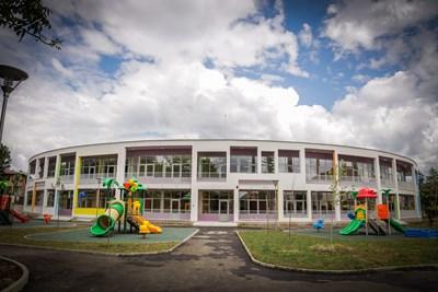 Една от новите детски градини в София  СНИМКА: СТОЛИЧНА ОБЩИНА