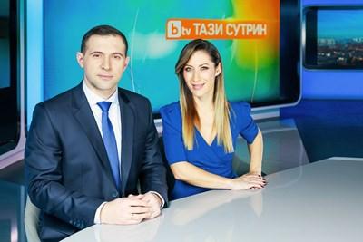 "Златимир Йочев и Биляна Гавазова в студиото на ""Тази сутрин"""