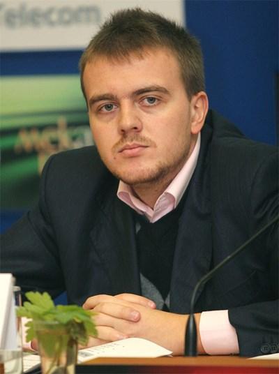 Петър Ганев, старши икономист в Института по пазарна икономика СНИМКА: АРХИВ