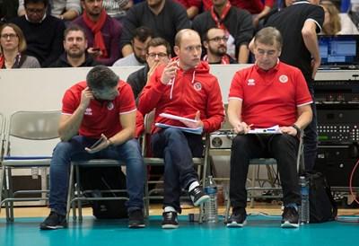 Силвано Пранди (вдясно) вече е разговарял с почти всички изявени български играчи за участието им през лятото.