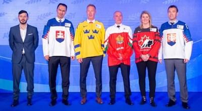 Константин Михайлов (с екипа на България) влезе в залата на славата на световния хокей.