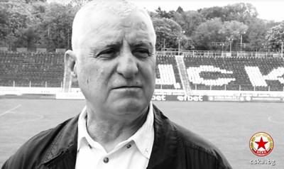 Почина футболната легенда Борис Гаганелов