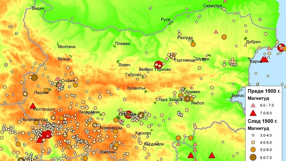 Zemetrsni Plochi Povdigat Balkanite S 6 Mm Godishno 168 Chasa
