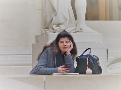Светлана Дичева живее в Париж вече 10 години  СНИМКА: Елеонора Кълвачева