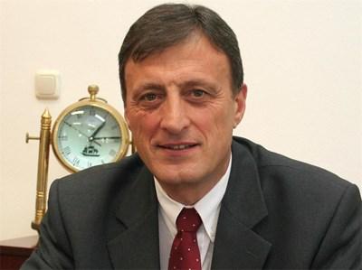 Кметът на Попово - Людмил Веселинов. СНИМКА: Архив