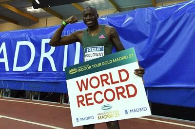 Падна 27-годишен рекорд в атлетиката