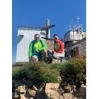 Зам.-министърът Нанков и любимата му Елена на връх Мургаш