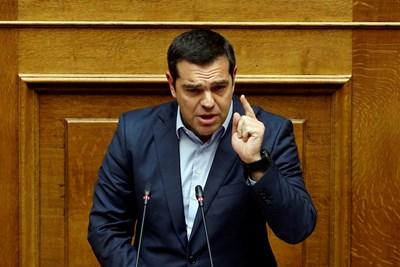 Гръцкият премиер Алексис Ципрас СНИМКА: Ройтерс