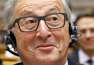 Жан-Клод Юнкер е автор на безпрецедентен инвестиционен план. СНИМКА: РОЙТЕРС