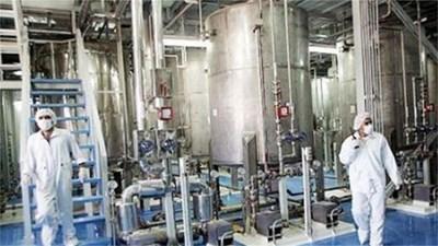 Предприятието за обогатяване на уран в Натанз. Снимка Архив