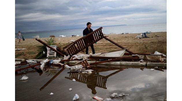 """""""Катимерини"""": Кризата след бурята е първият реален тест за Кириакос Мицотакис"""